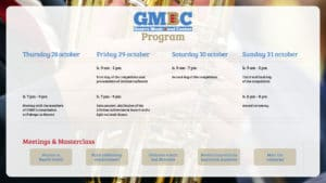 The GMBC is postponed.